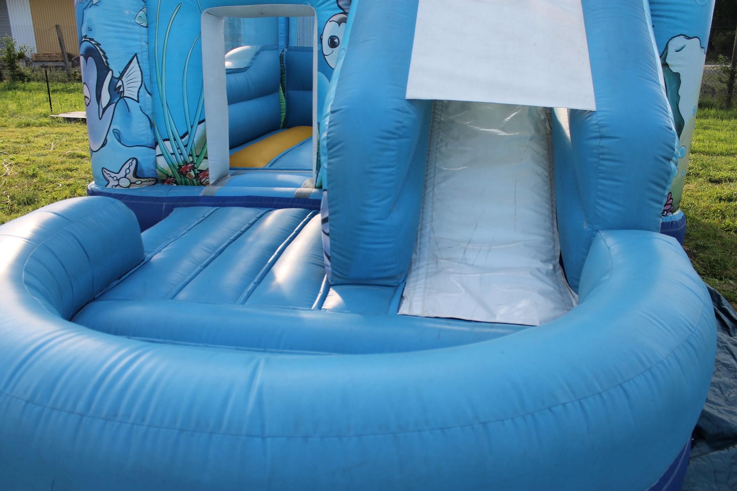 Nos man ges for Grosse piscine gonflable